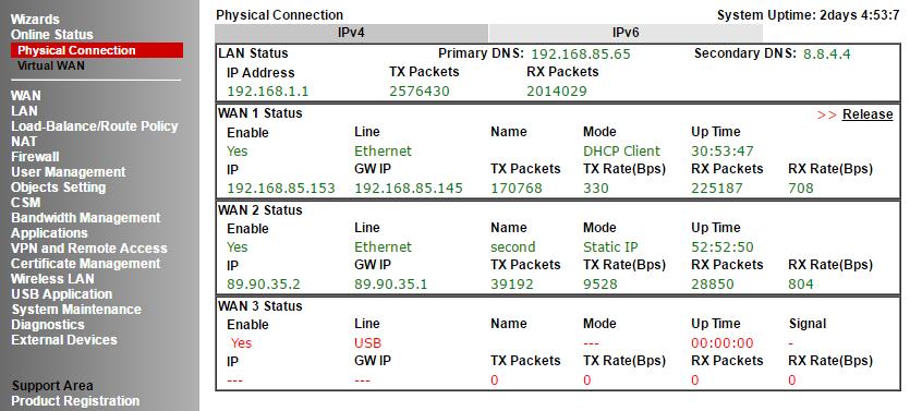 Обзор маршрутизатора Draytek серии 2912. Часть вторая - 12
