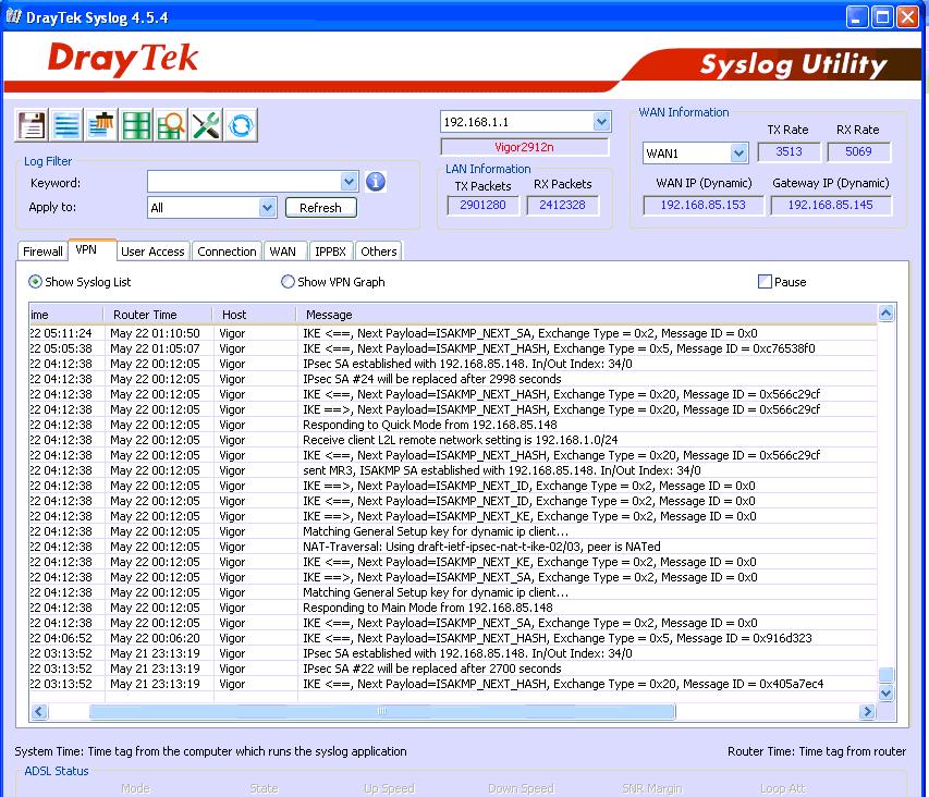 Обзор маршрутизатора Draytek серии 2912. Часть вторая - 54