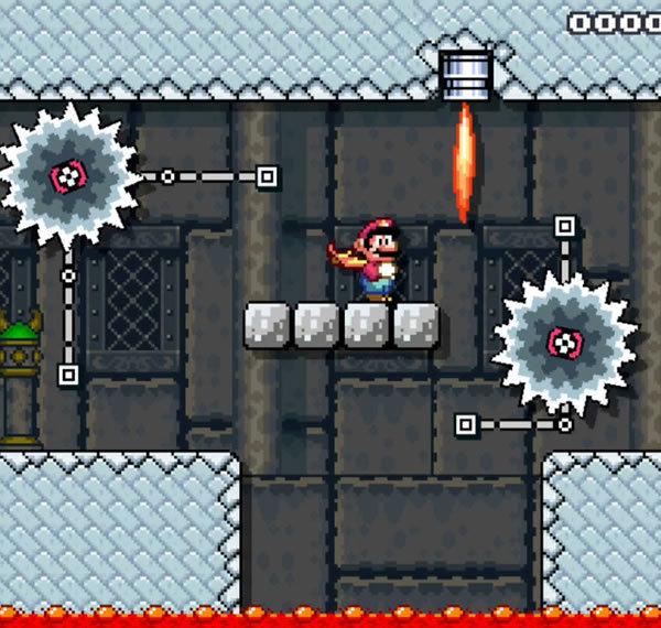 Метод Super Mario World: серии препятствий - 6