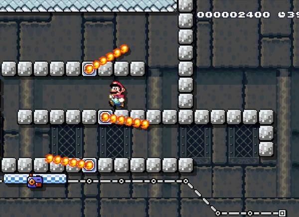 Метод Super Mario World: серии препятствий - 8