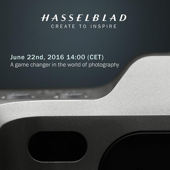 Анонс новой камеры Hasselblad назначен на 22 июня