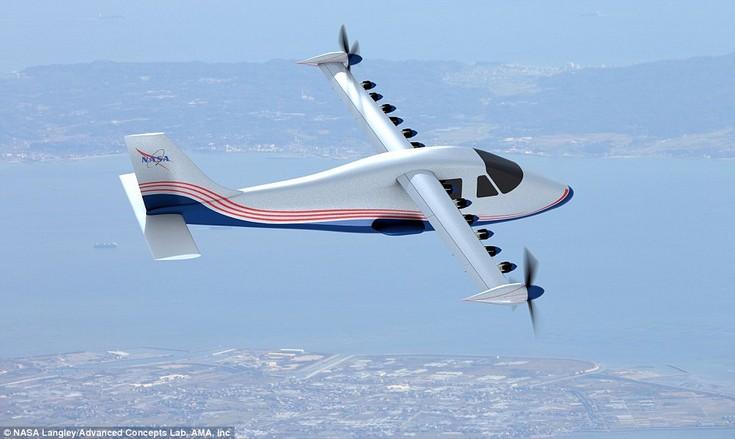 NASA строит самолёт Maxwell, оснащённый лишь электрическими двигателями