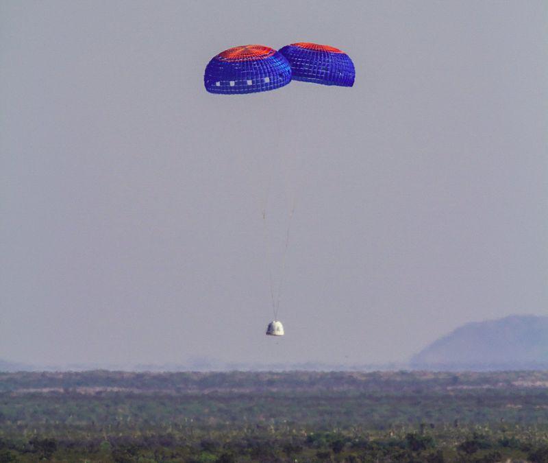 Космический корабль New Shepard успешно совершил старт и посадку в четвертый раз - 3