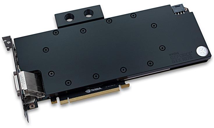 Водоблок EK Water Blocks EK-FC1070 GTX предназначен для 3D-карт GeForce GTX 1070