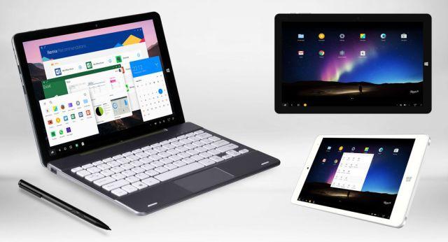 Chuwi выпустит 12-дюймовый планшет с Remix OS и Windows 10