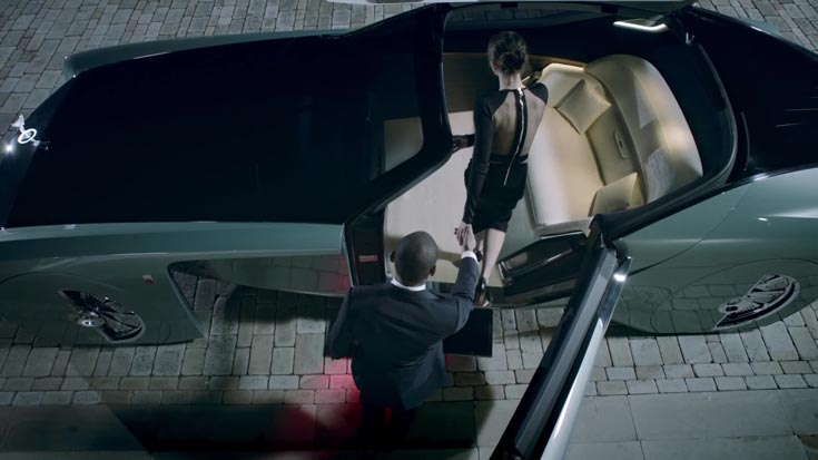 Транспортные средства, подобные Rolls-Royce 103EX, появятся на дорогах не раньше 2040 года