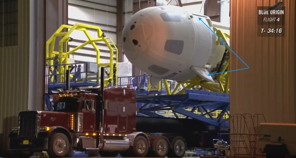 Четвертая посадка New Shepard: научные эксперименты, тест отказа парашюта и первая полная трансляция пуска - 2