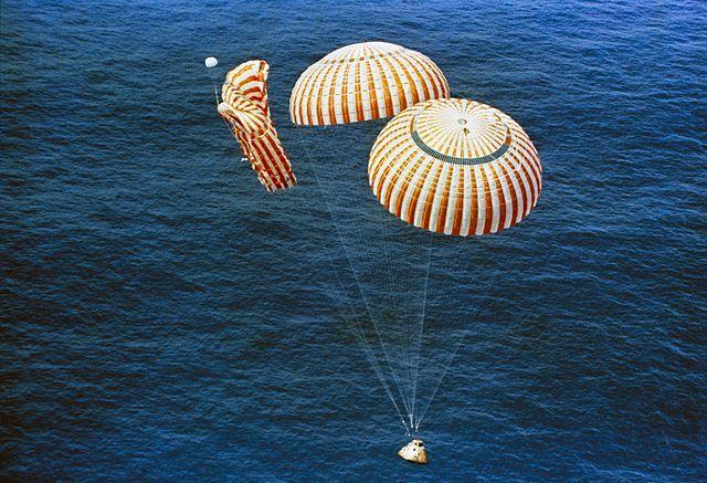 Четвертая посадка New Shepard: научные эксперименты, тест отказа парашюта и первая полная трансляция пуска - 24