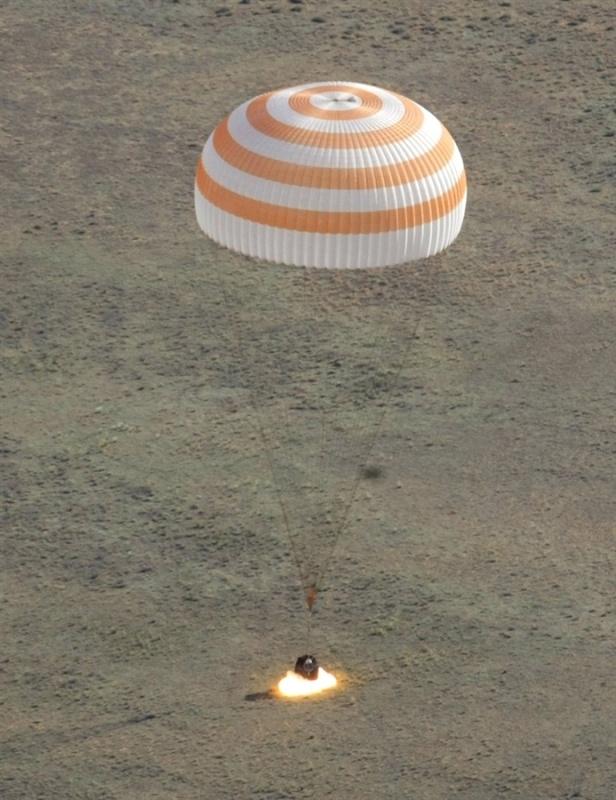 Четвертая посадка New Shepard: научные эксперименты, тест отказа парашюта и первая полная трансляция пуска - 26