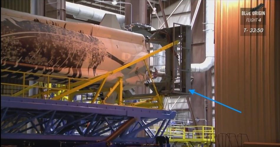 Четвертая посадка New Shepard: научные эксперименты, тест отказа парашюта и первая полная трансляция пуска - 3