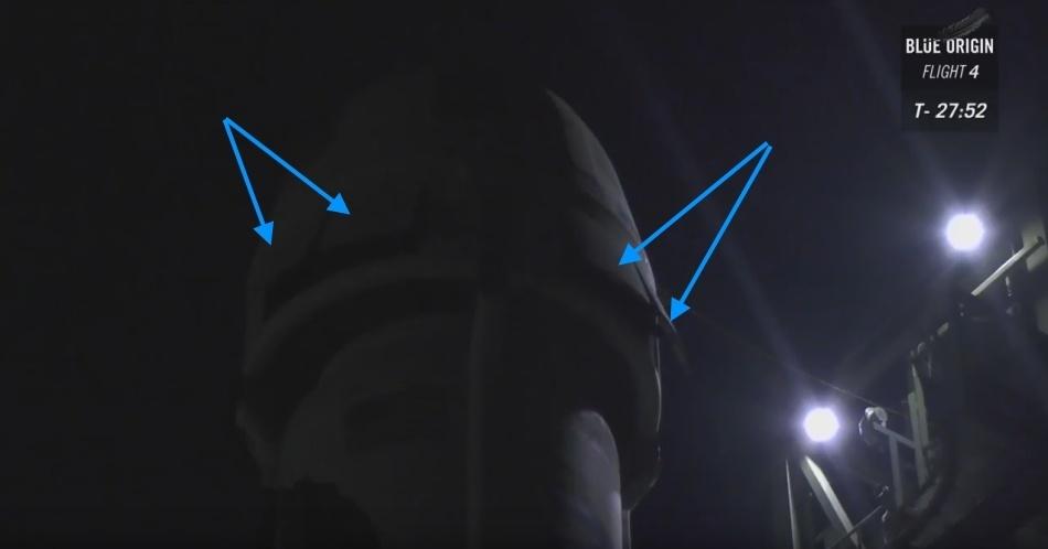 Четвертая посадка New Shepard: научные эксперименты, тест отказа парашюта и первая полная трансляция пуска - 5