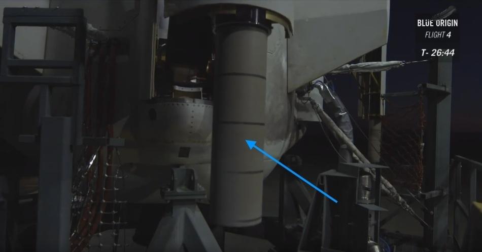 Четвертая посадка New Shepard: научные эксперименты, тест отказа парашюта и первая полная трансляция пуска - 6