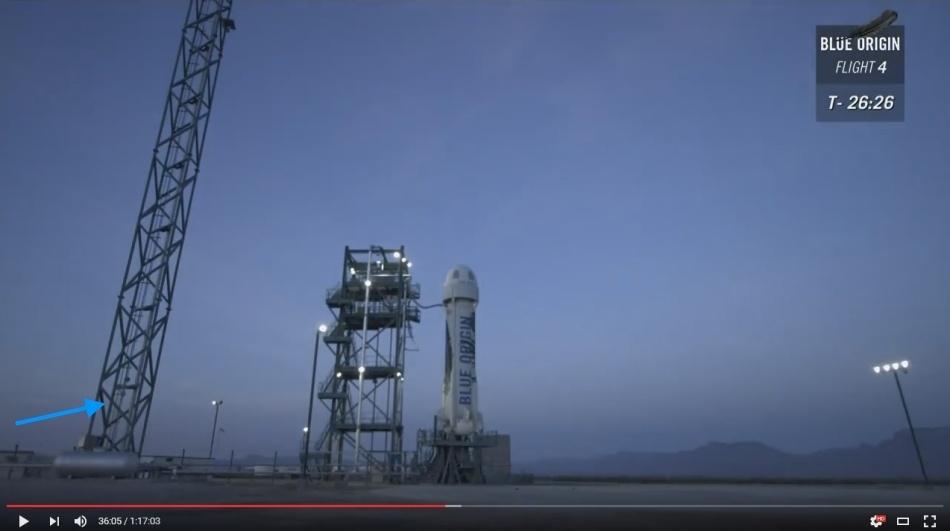 Четвертая посадка New Shepard: научные эксперименты, тест отказа парашюта и первая полная трансляция пуска - 8