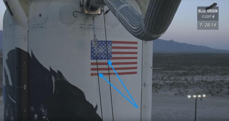 Четвертая посадка New Shepard: научные эксперименты, тест отказа парашюта и первая полная трансляция пуска - 9