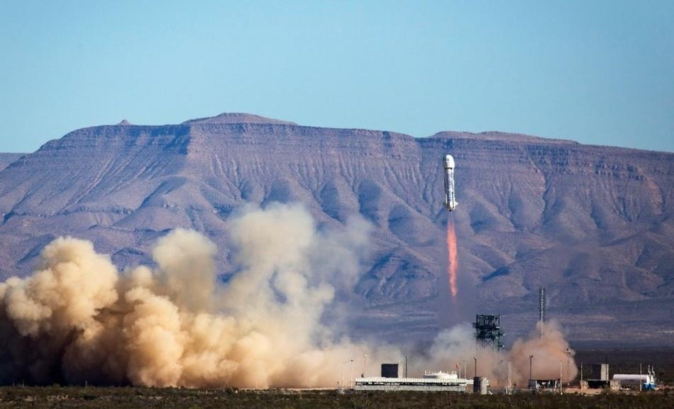 Четвертая посадка New Shepard: научные эксперименты, тест отказа парашюта и первая полная трансляция пуска - 1