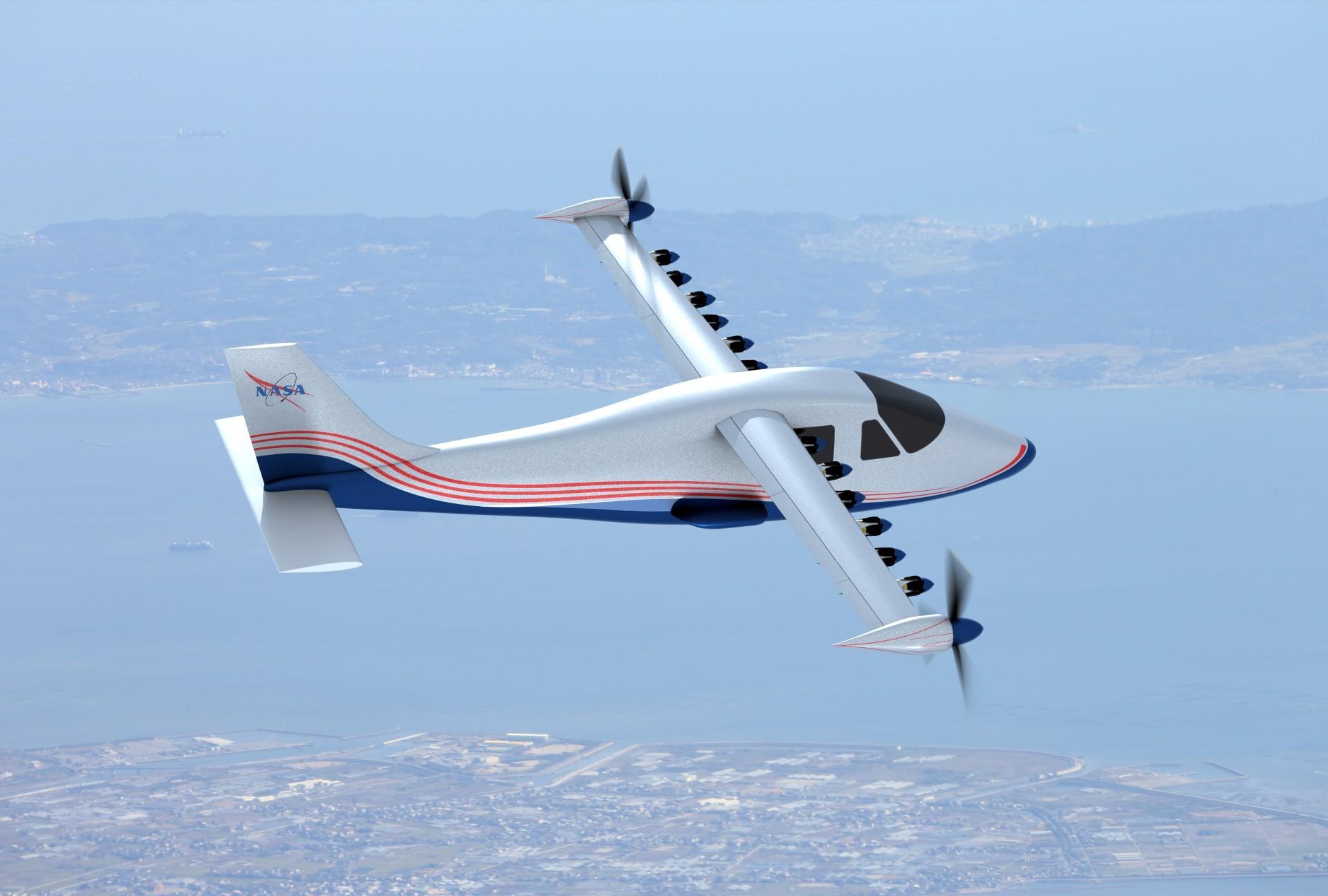 НАСА анонсировало электрический самолёт X-57 Maxwell - 7