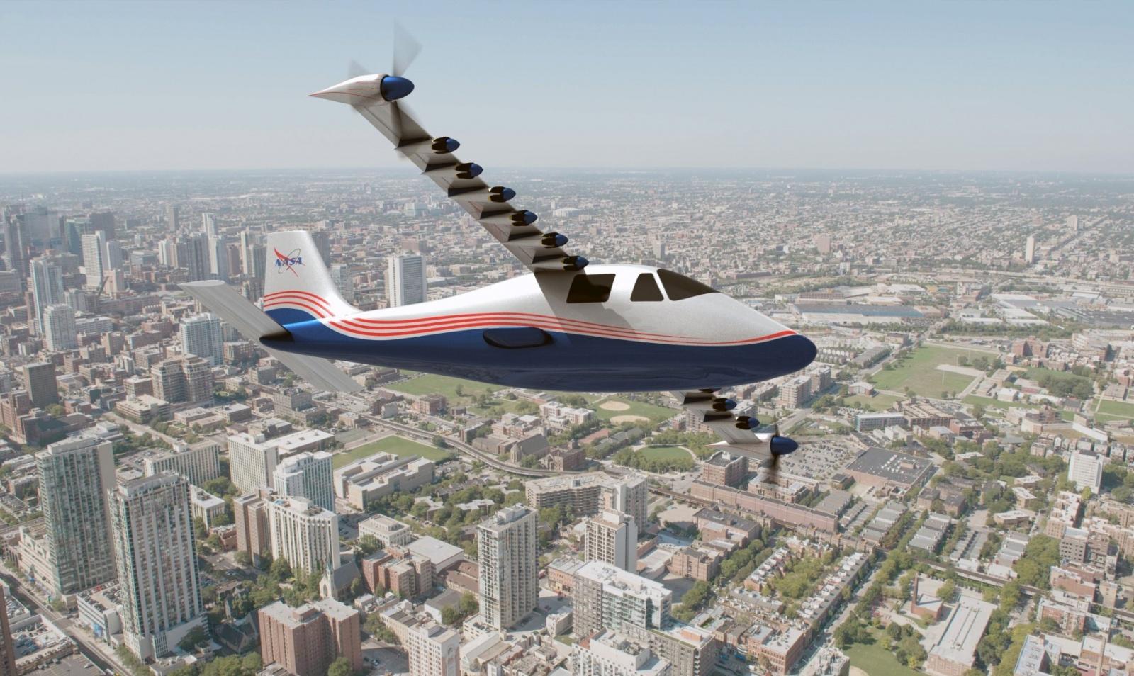НАСА анонсировало электрический самолёт X-57 Maxwell - 1