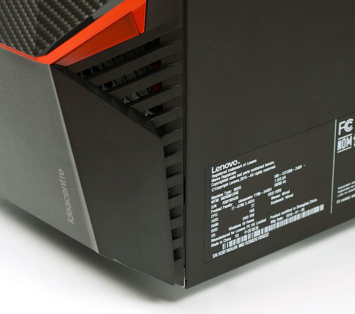 Обзор Lenovo Ideacentre Y900 - 6