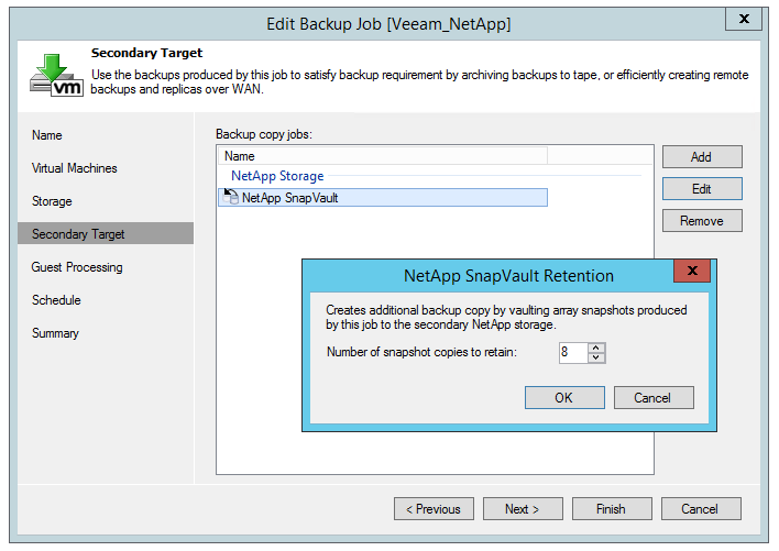 NetApp ONTAP c Veeam Backup & Replication - 3
