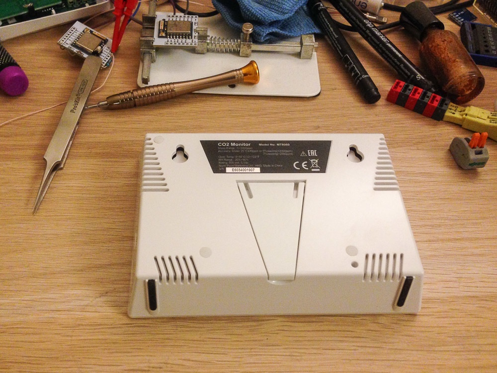 Добавляем WiFi к монитору качества воздуха: измеритель CO2 для умного дома - 2