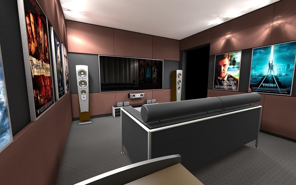 Домашний кинотеатр своими руками. Часть 1. Помещение и оборудование - 1