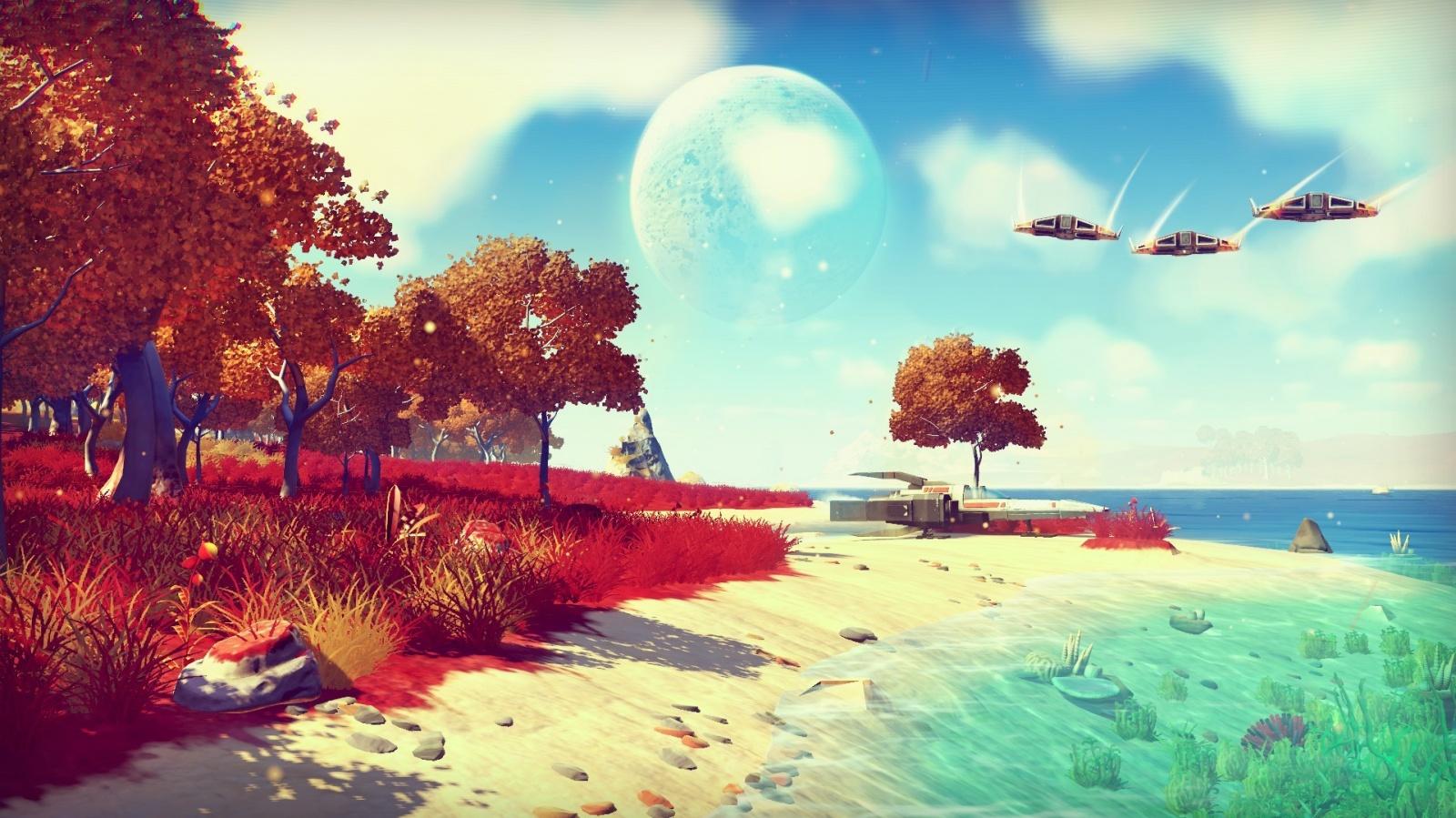 Разработчики игры No Man's Sky защитили название от компании Sky - 9