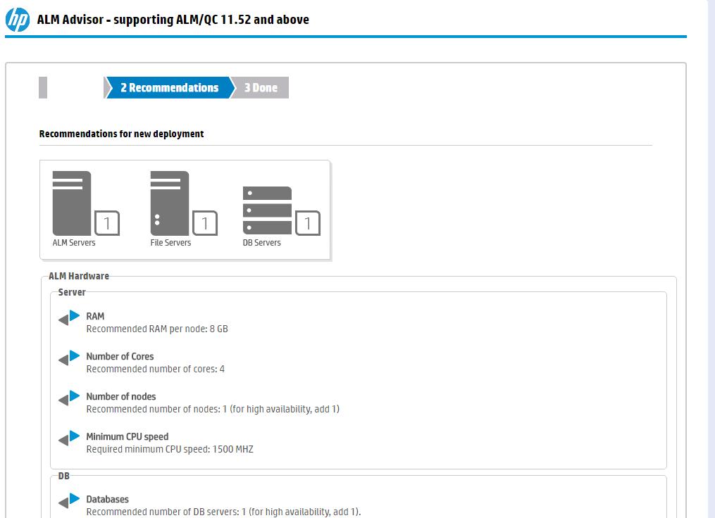 ALM Advisor – доступный online пользователям ALM-инструмент для оценки планируемого или существующего рабочего окружения - 3