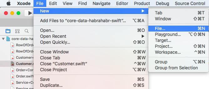 Core Data + Swift для самых маленьких: необходимый минимум (часть 2) - 9