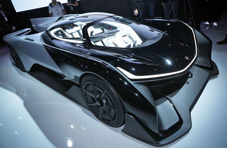 Faraday Future стала тринадцатой в списке тех, кто сможет тестировать самоуправляемые автомобили в Калифорнии