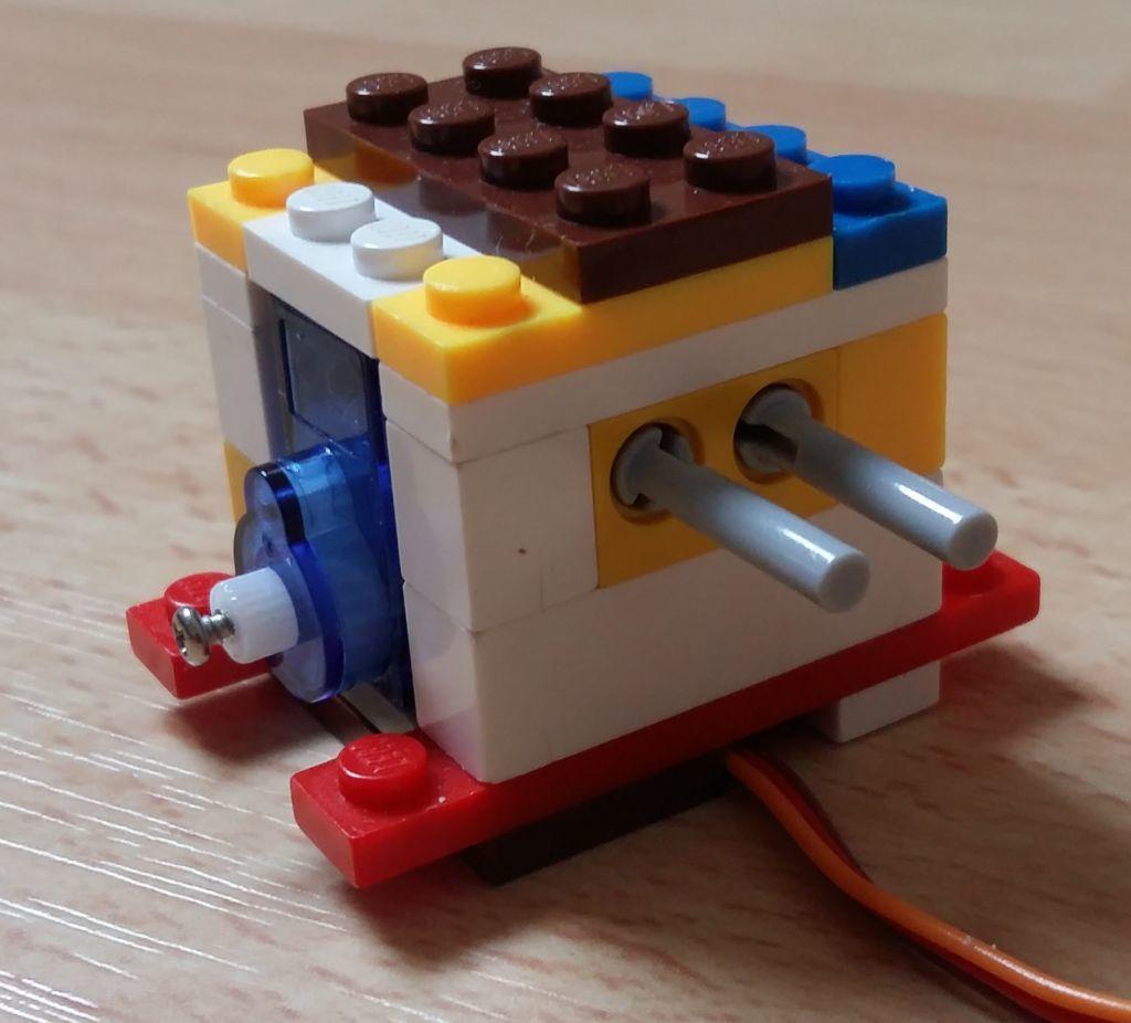 Женим Ардуино с Лего и строим первобота - 2