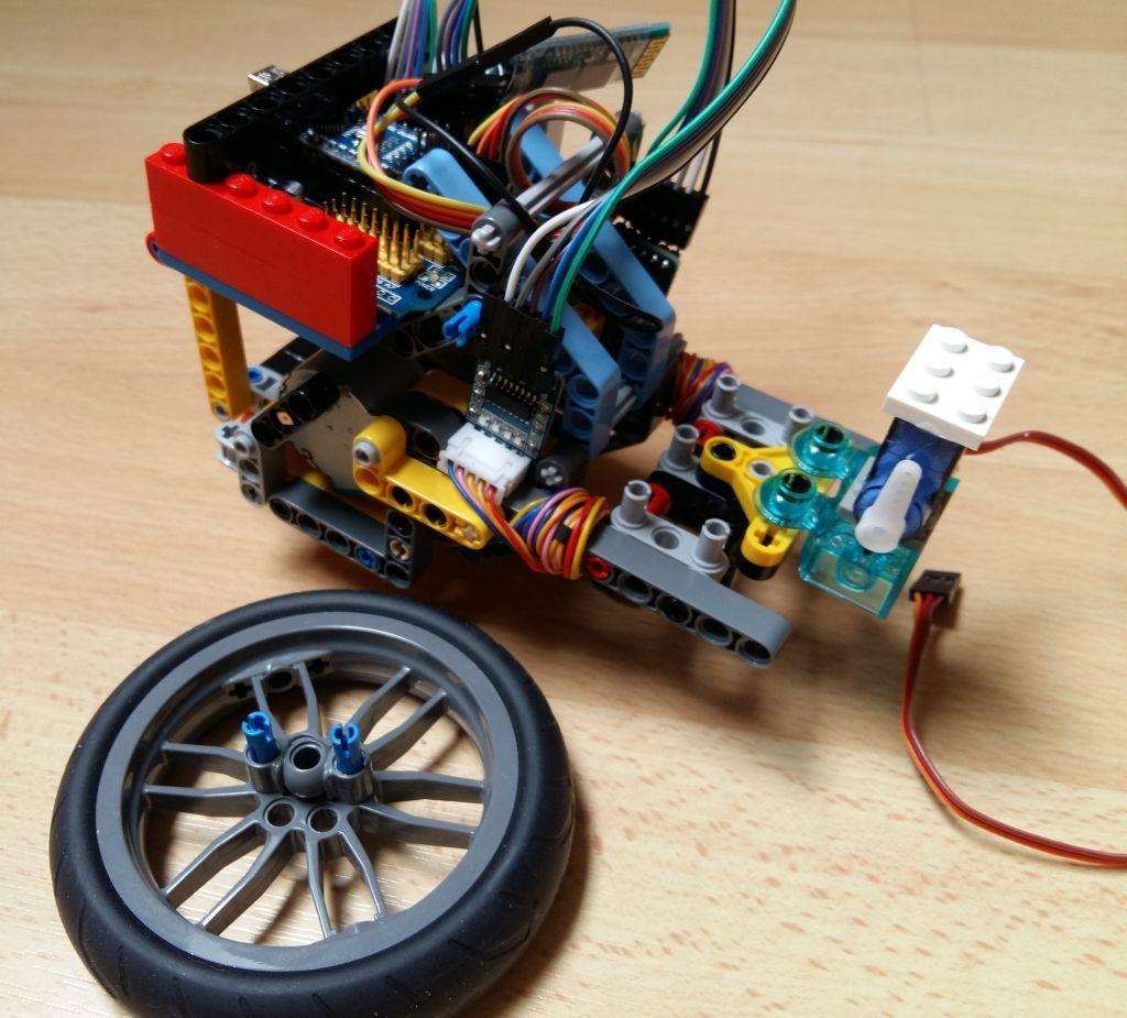 Женим Ардуино с Лего и строим первобота - 5