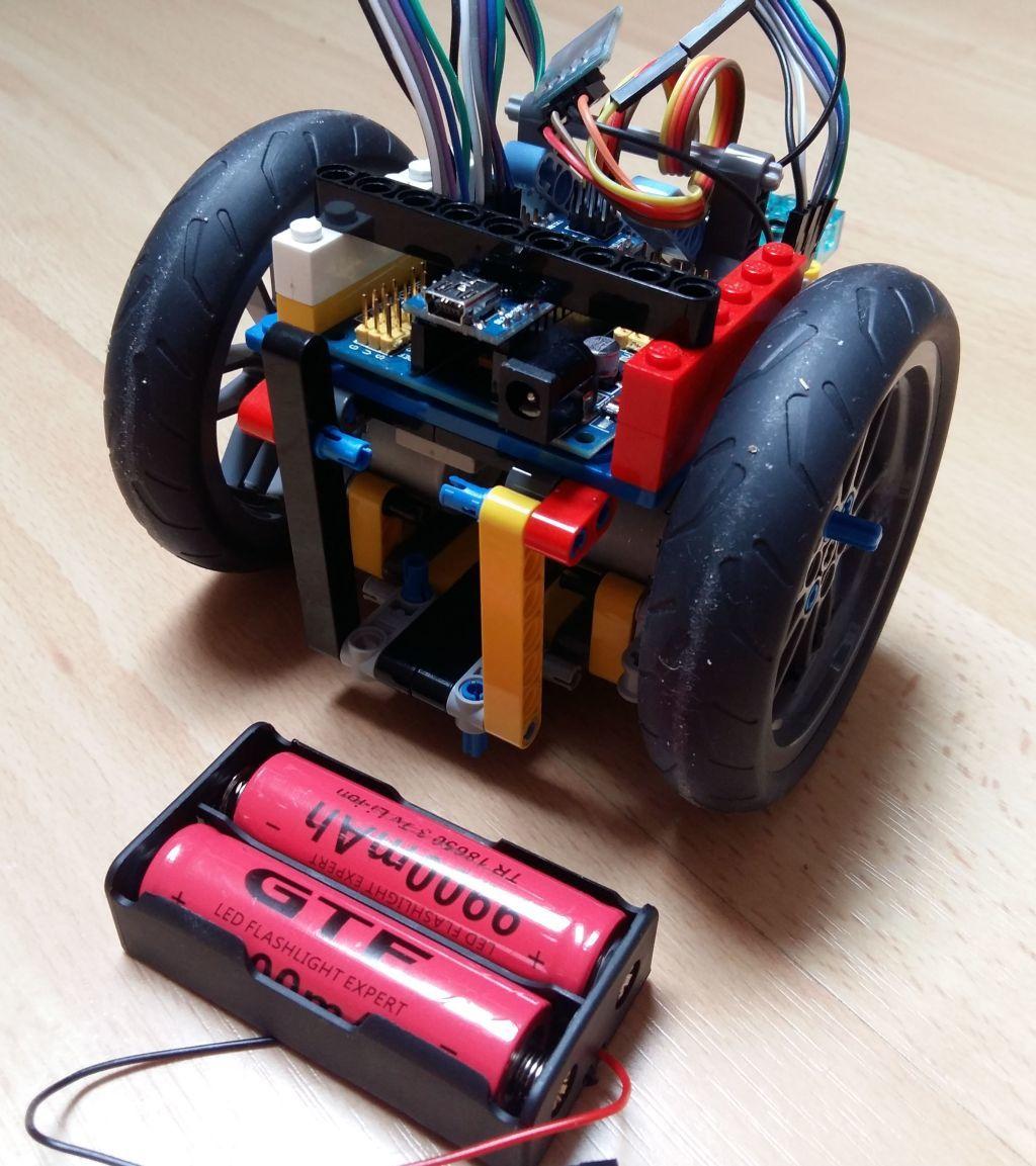 Женим Ардуино с Лего и строим первобота - 6