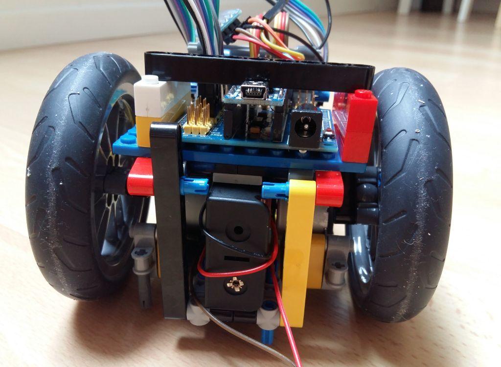 Женим Ардуино с Лего и строим первобота - 7