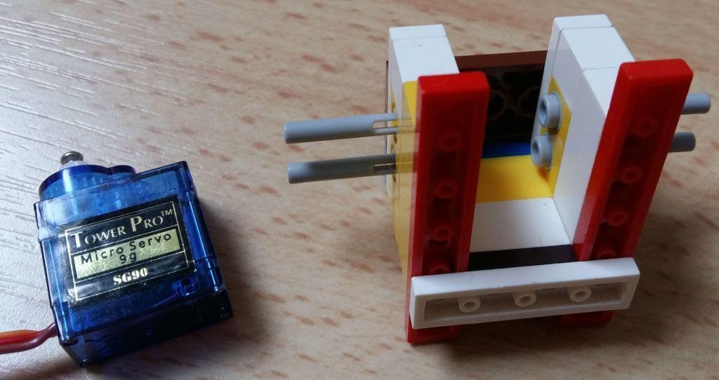 Женим Ардуино с Лего и строим первобота - 1