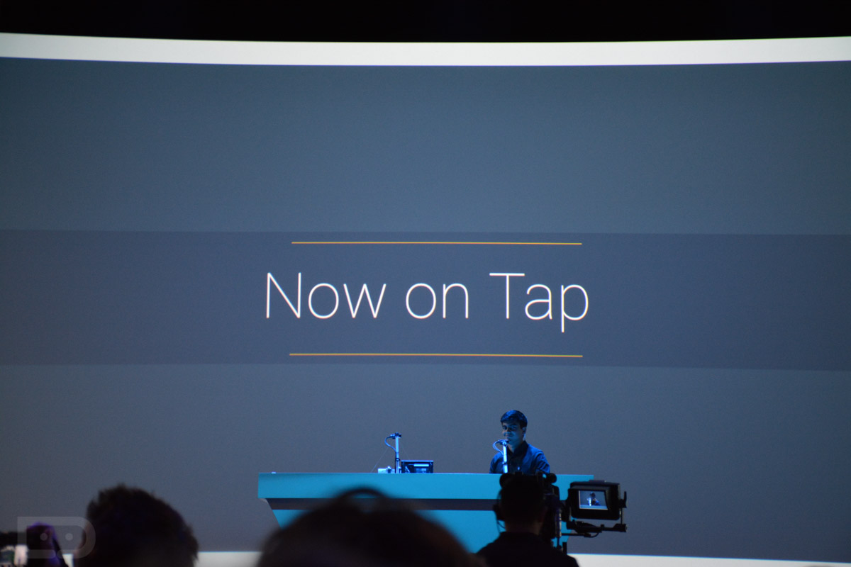 Now on tap — подсказывает и показывает - 1