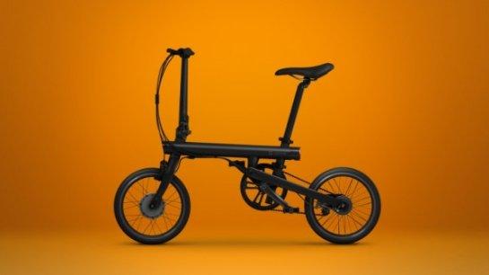 Xiaomi создала складной электрический велосипед под названием QiCycle