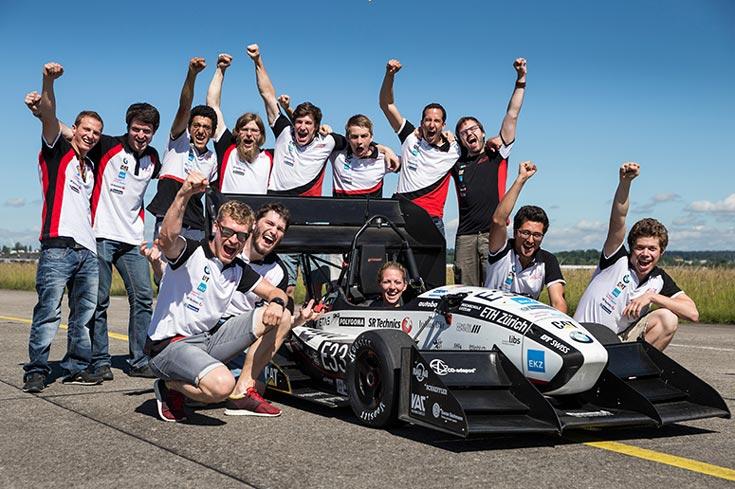 Электромобиль Grimsel создан швейцарскими студентами