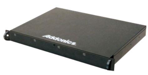 Шасси Addonics R1825SN-2MS и R1825SN-8ES типоразмера 1U вмещают по восемь накопителей