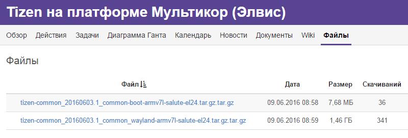 Вышел первый российский дистрибутив свободной ОС Tizen - 1