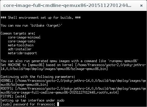 Запускаем Yocto Linux на виртуальной машине - 14
