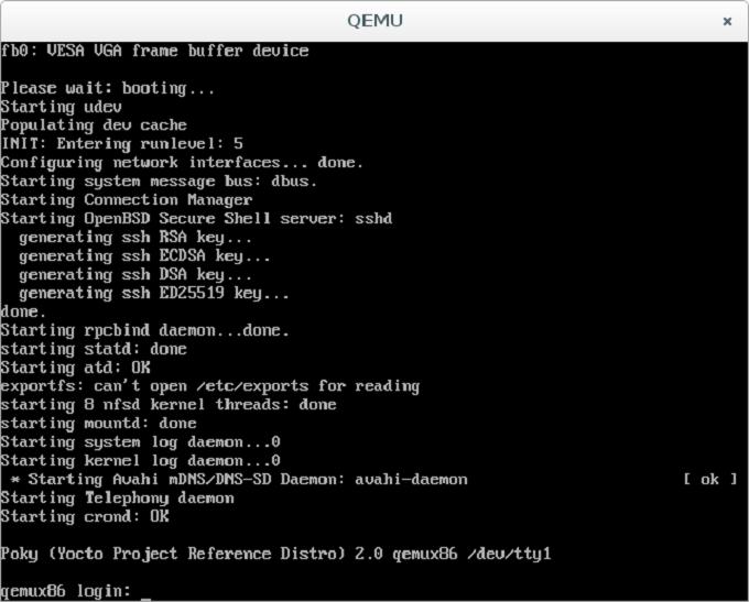 Запускаем Yocto Linux на виртуальной машине - 16