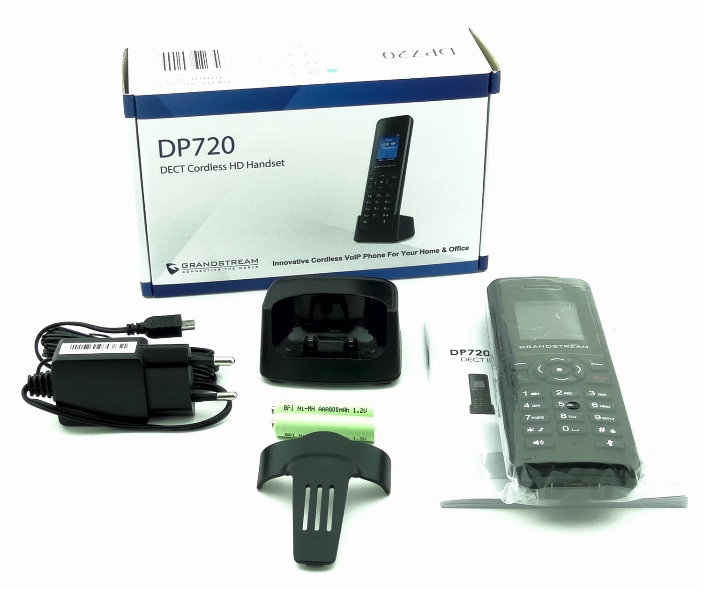 Обзор нового DECT IP телефона Grandstream DP750-DP720 - 5