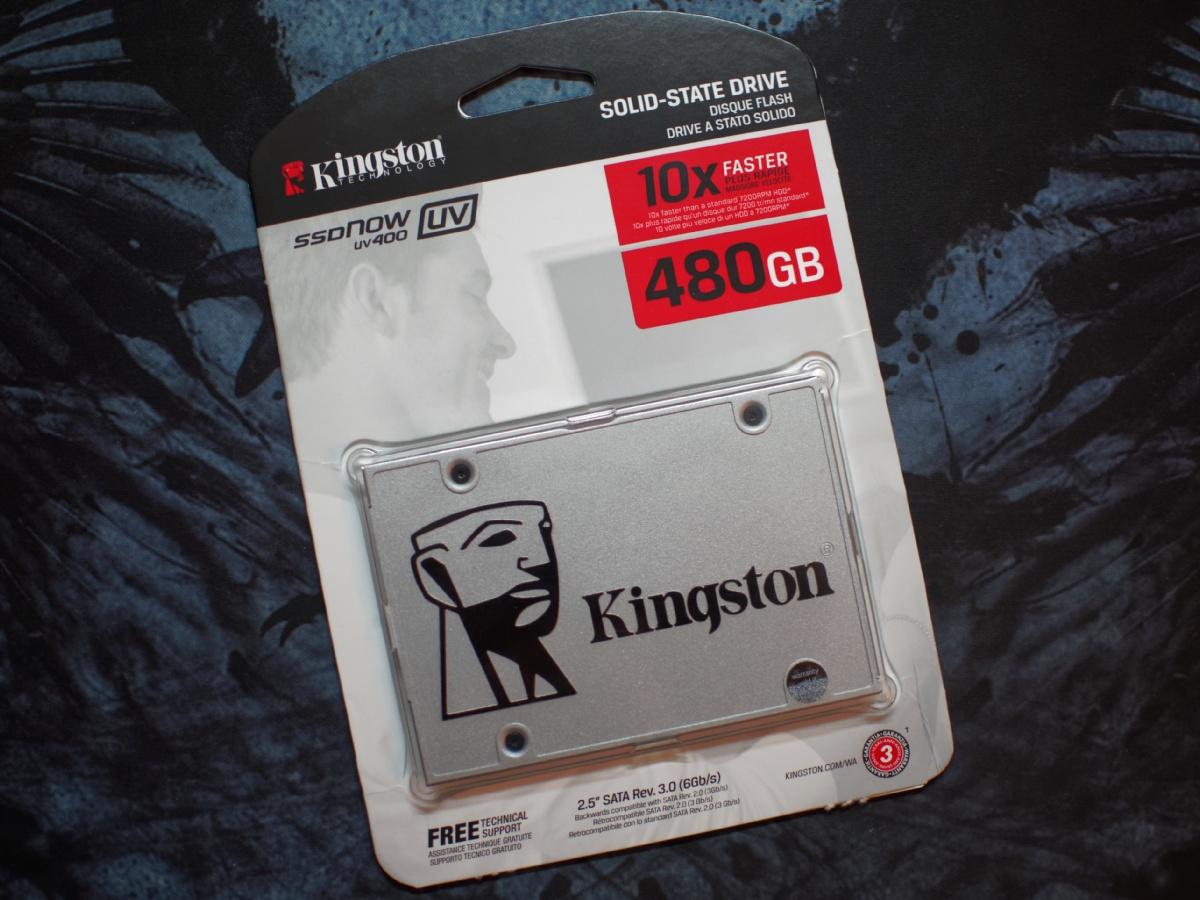 Обзор твердотельного накопителя Kingston UV400 480 Gb — SSD с «изюмом» - 2
