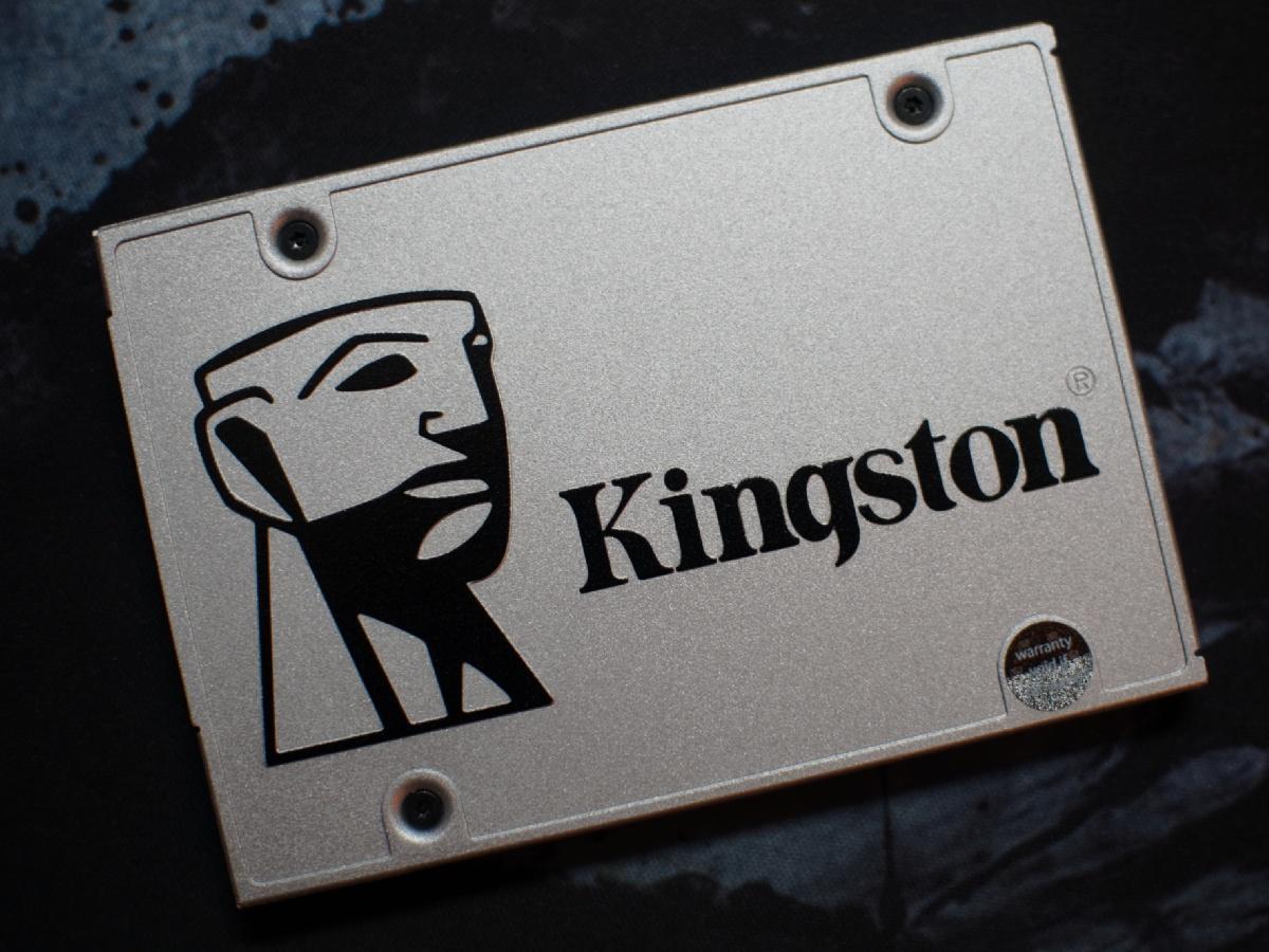 Обзор твердотельного накопителя Kingston UV400 480 Gb — SSD с «изюмом» - 1