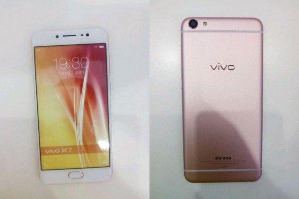 Опубликованы фотографии и характеристики смартфона Vivo X7 Plus
