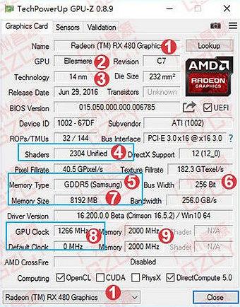 3D-карта Radeon RX 480 показывает отличную производительность в играх