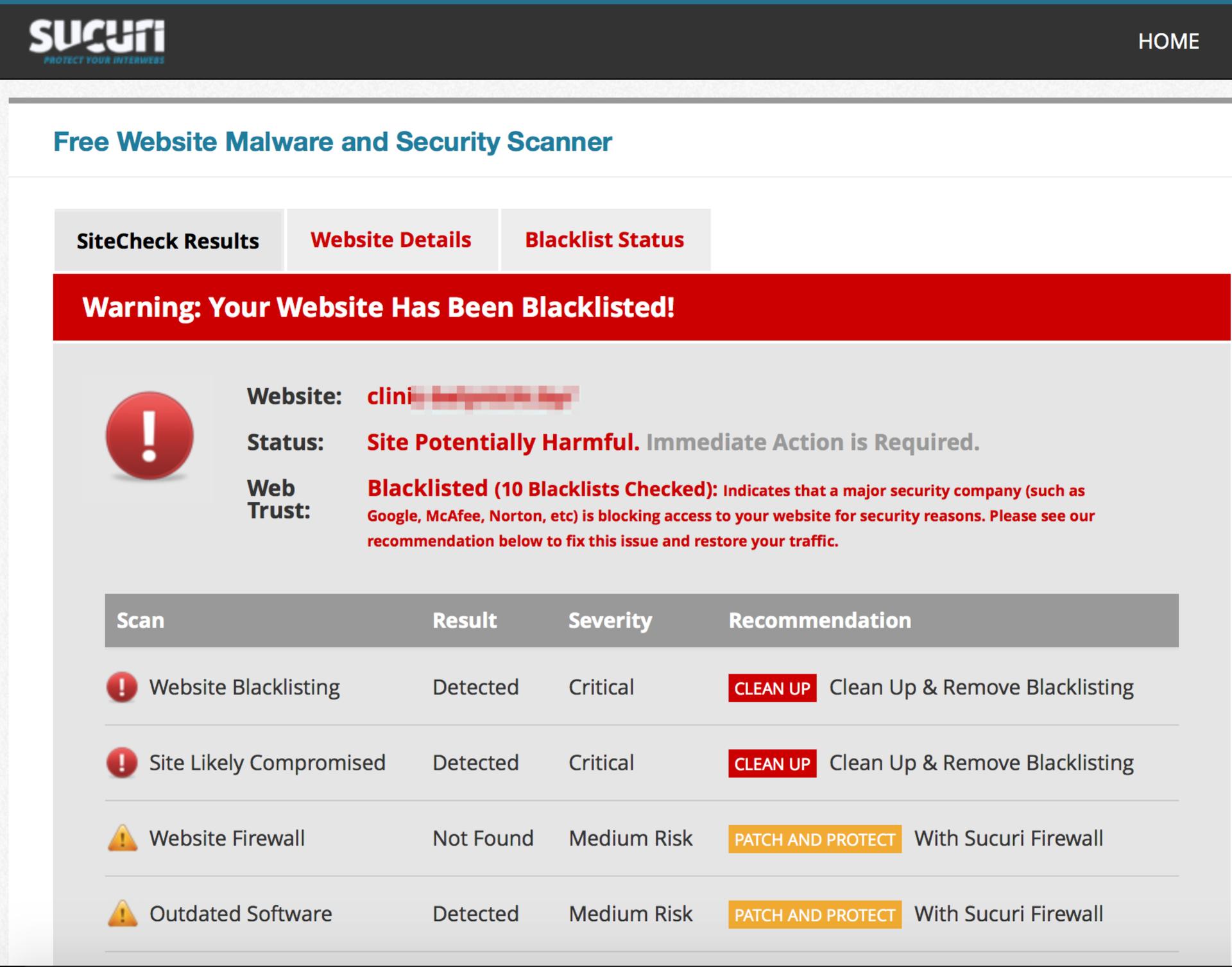 Веб-сервисы для проверки сайтов на вирусы - 7