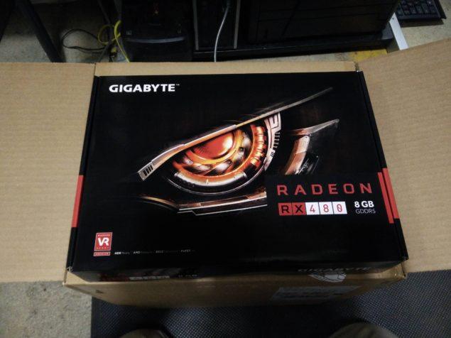 Карты AMD Radeon RX 480 поступают в магазины большими партиями