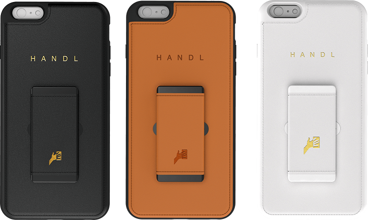 Чехол-накладка Handl надежнее крепит смартфон к руке