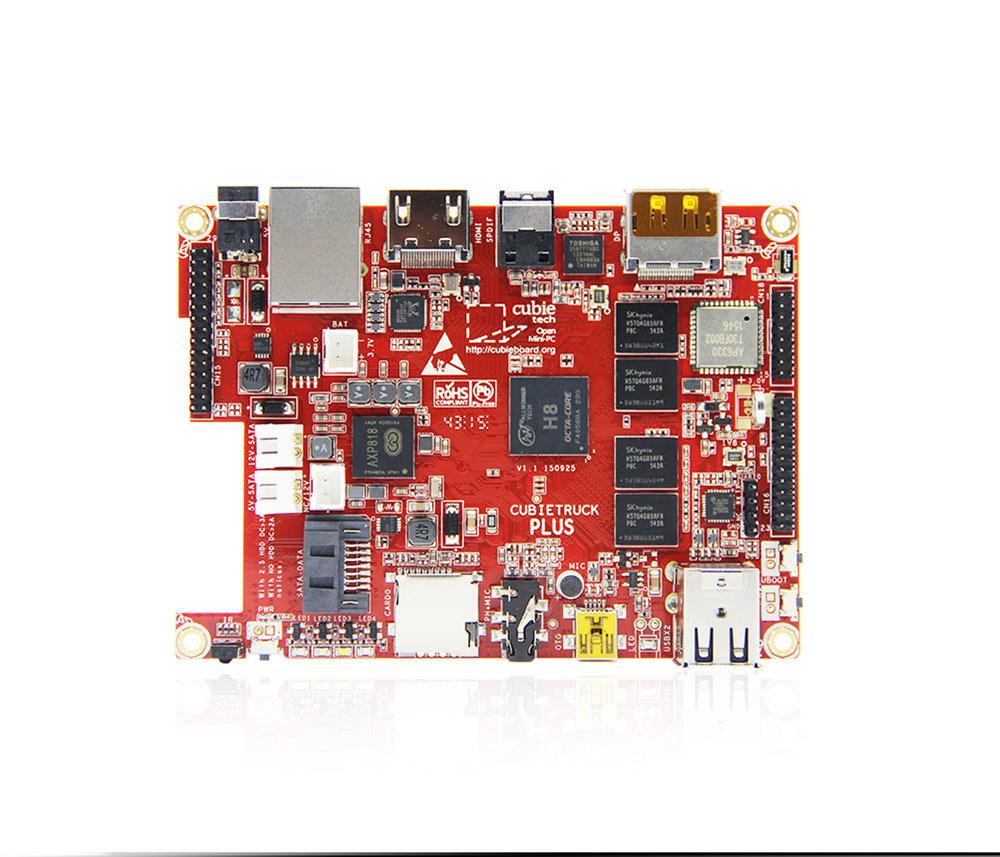 Анонсирован Cubieboard 5-Cubietruck Plus и HDD-RAID Shield - 3
